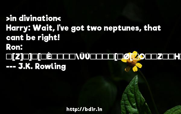 >in divination< 